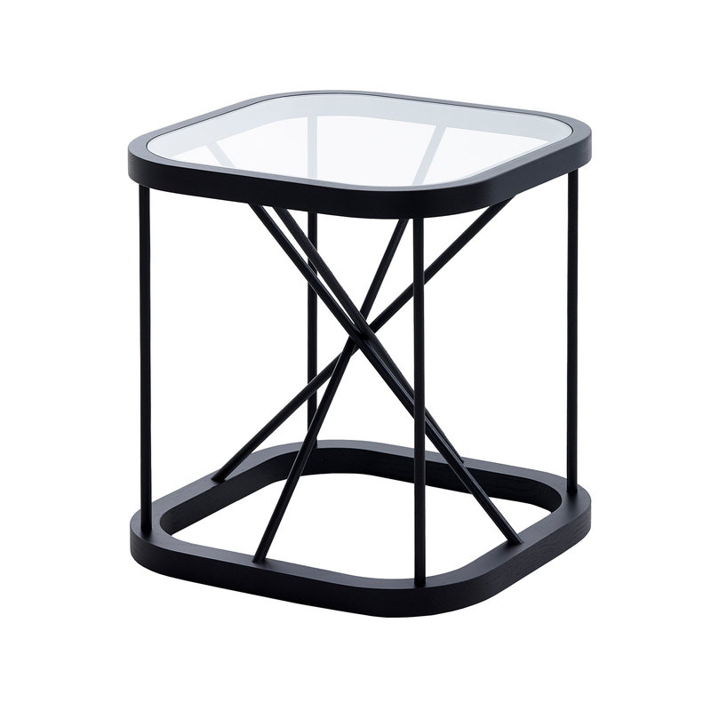 Woodnotes Twiggy table 44 x 44 cm, black