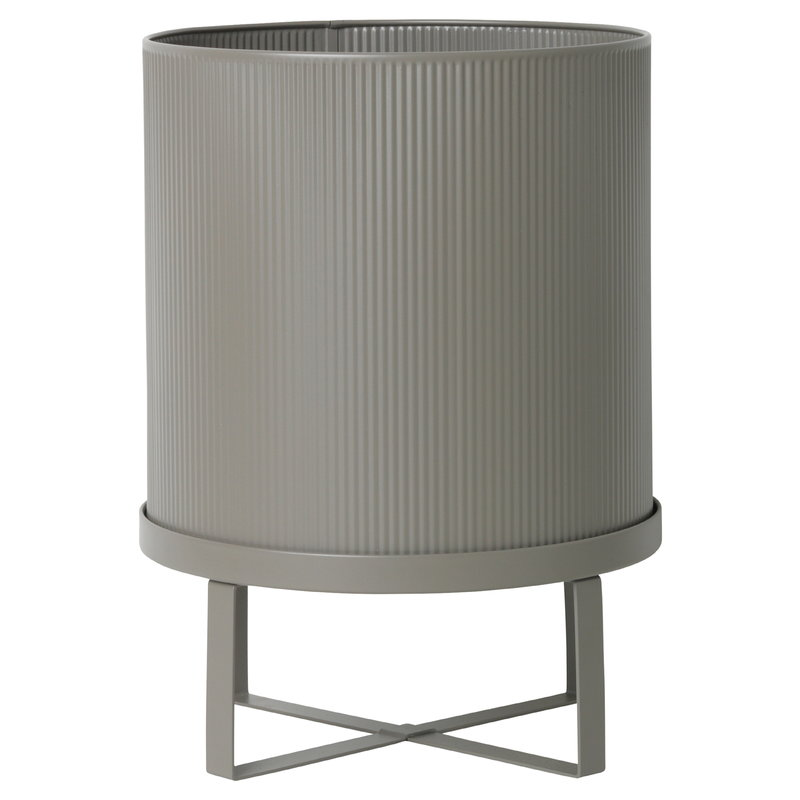 Ferm Living Bau pot, large, warm grey