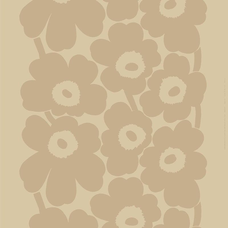 Marimekko Unikko pellavakangas, beige