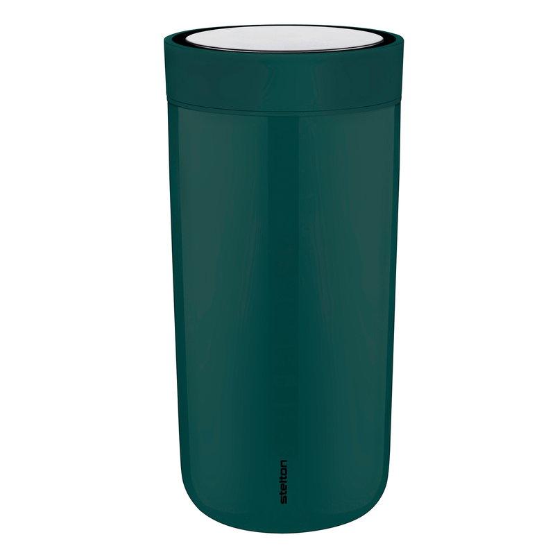 Stelton Tazza termica To Go Click,  verde foresta scuro