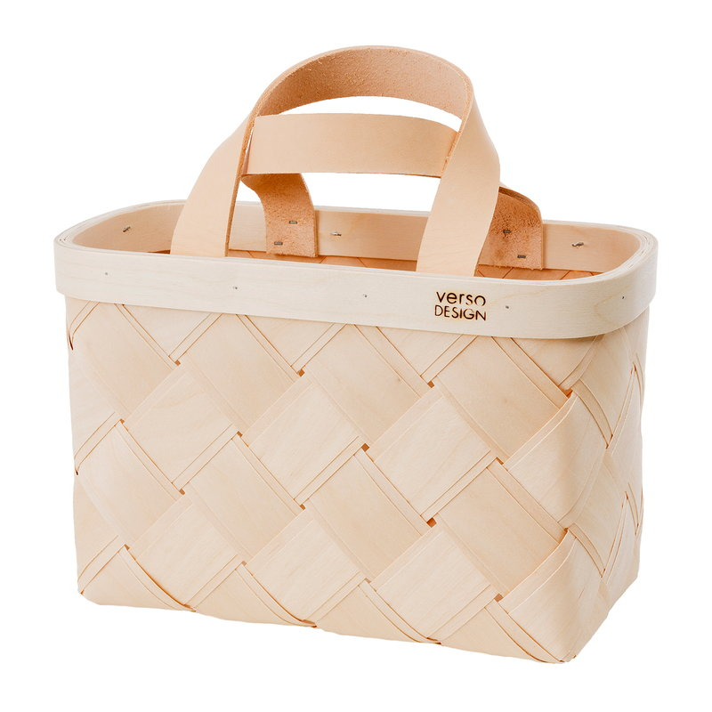 Verso Design Lastu shopping basket, mini