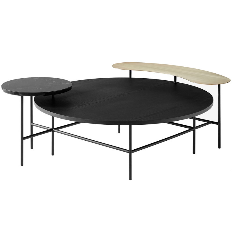 &Tradition Palette JH25 table, black