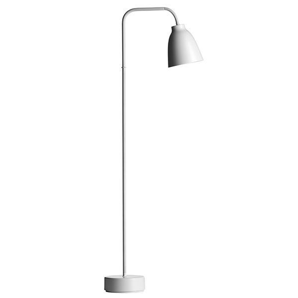 Fritz Hansen Caravaggio Read floor lamp, light grey