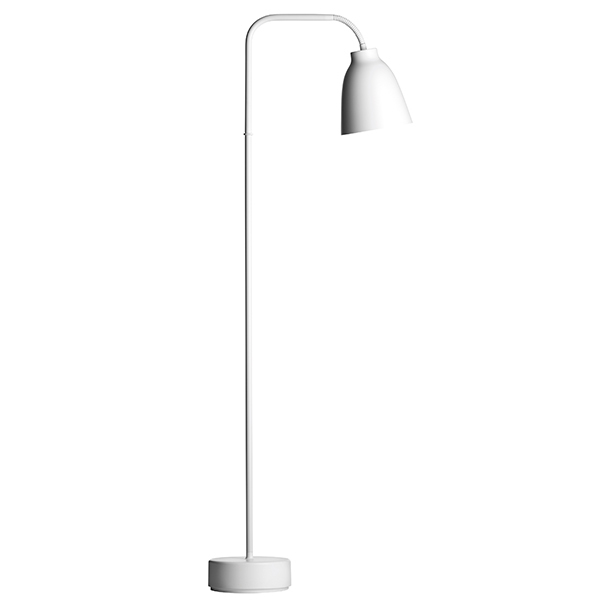 Fritz Hansen Caravaggio Read floor lamp, white