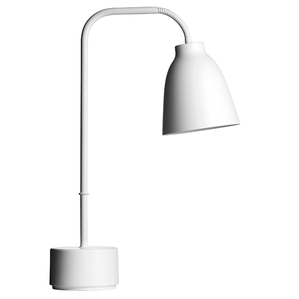 Fritz Hansen Caravaggio Read table lamp, white