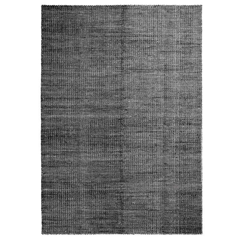 Hay Moiré Kelim matto 140 x 200 cm, musta