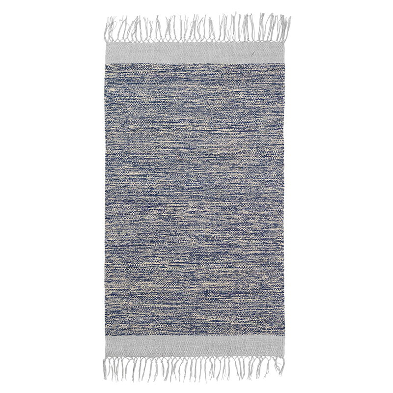 Ferm Living Melange kylpyhuoneen matto, sininen