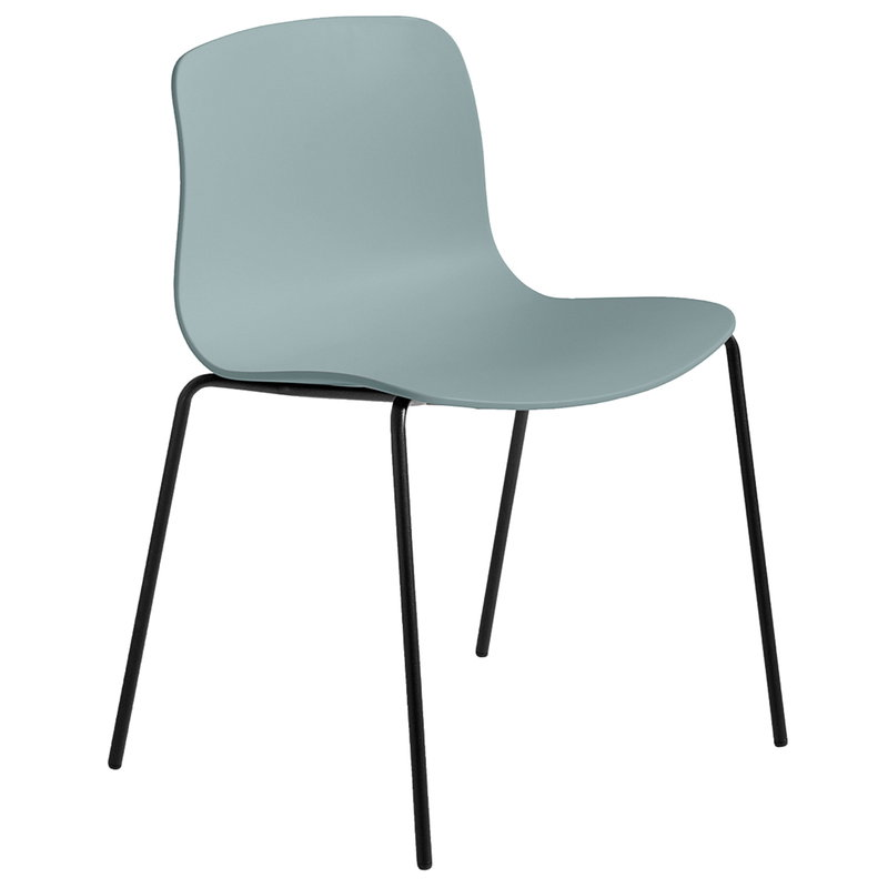 Hay About A Chair AAC16, dusty blue - black