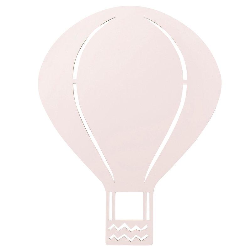 Ferm Living Air Balloon seinävalaisin, roosa