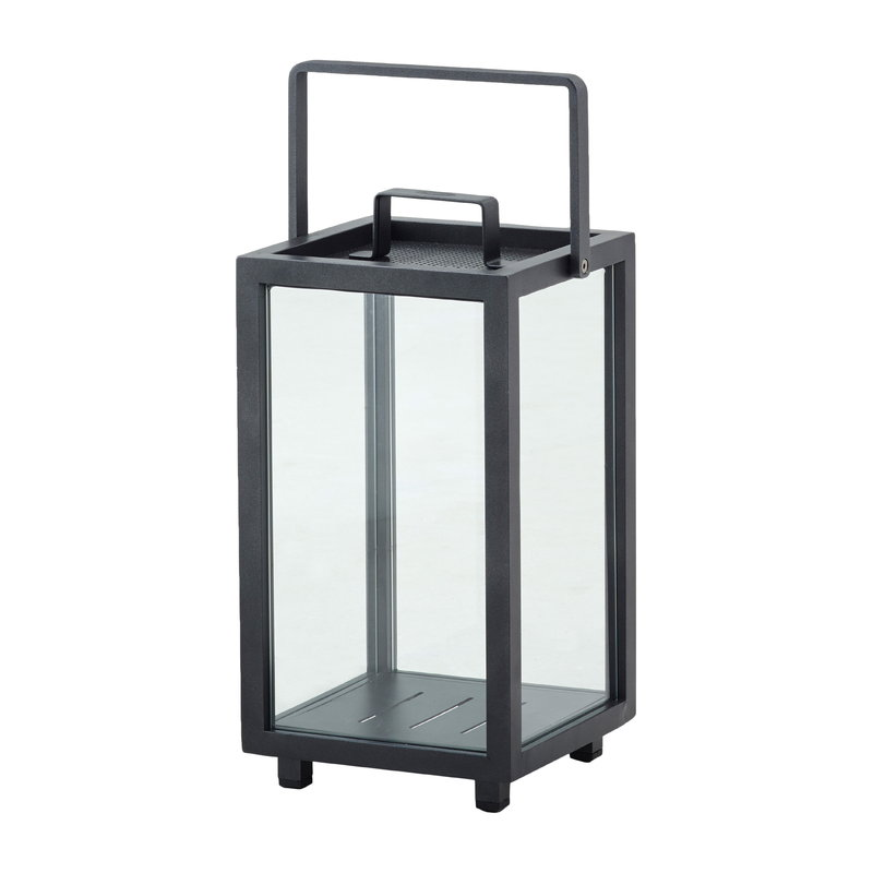Cane-line Lighthouse lantern, small, dark grey