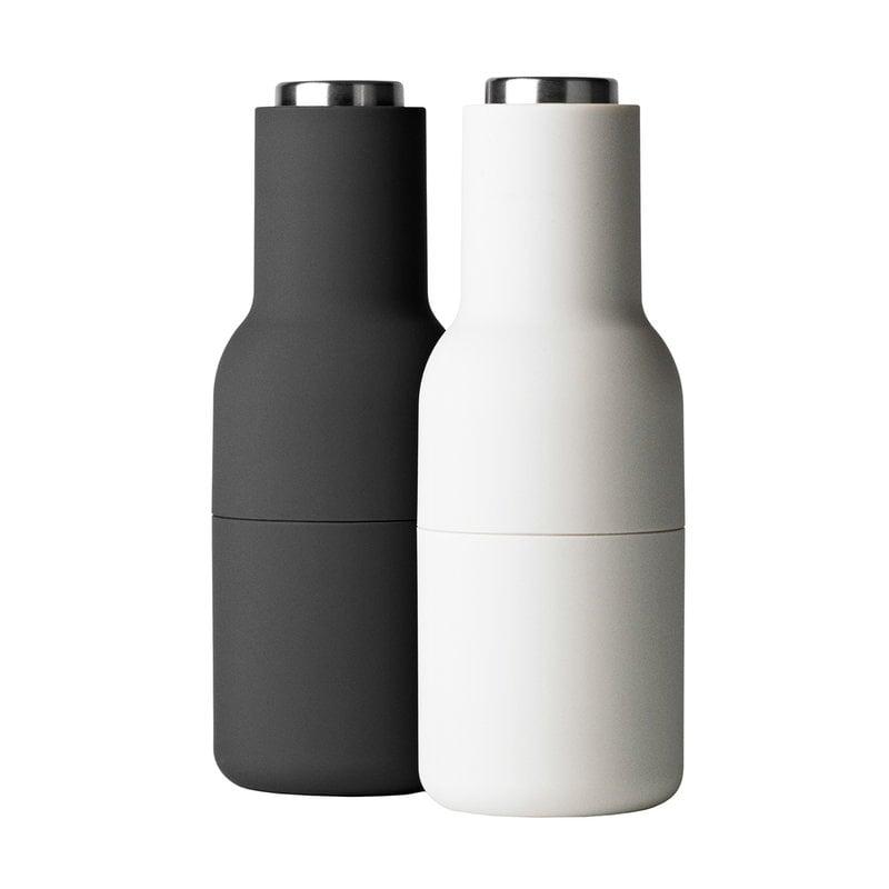 Menu Bottle Grinder 2 pcs, ash - carbon - steel