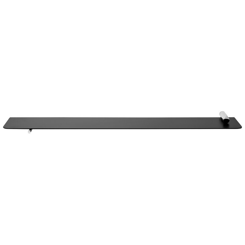 Ferm Living Flying Shelf seinähylly, sylinteri, kromi