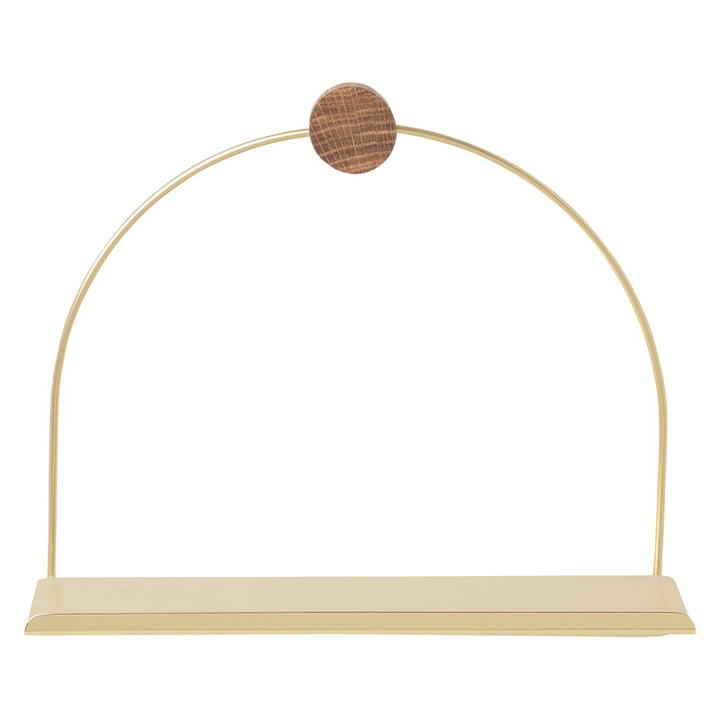 Ferm Living Bathroom shelf, brass