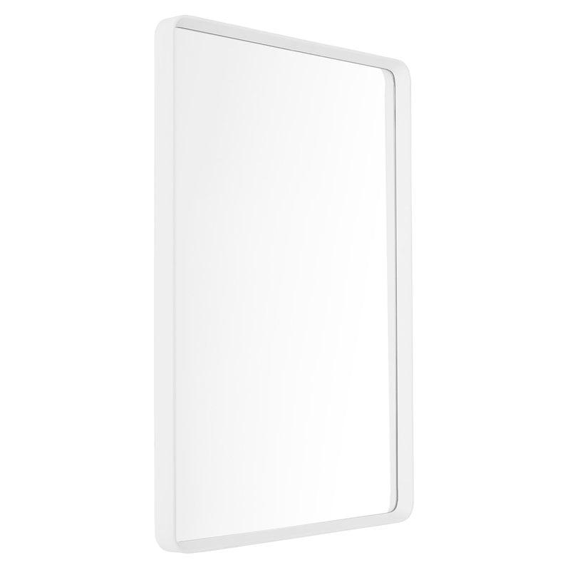 Menu Specchio da parete Norm, rettangolare, 50 x 70 cm, bianco