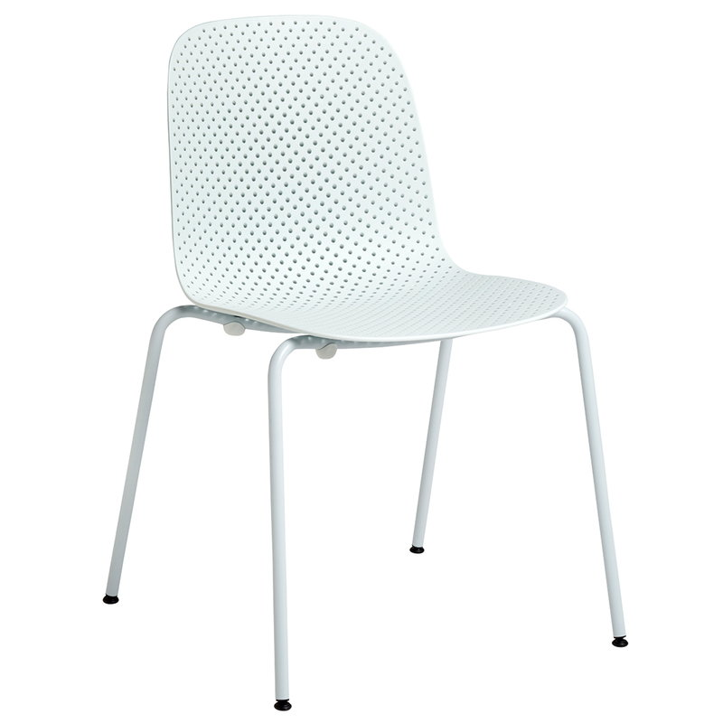 Hay 13Eighty chair, pure grey - soft blue