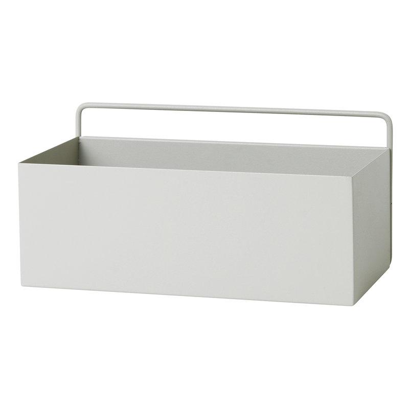Ferm Living Wall Box, rectangle, light grey