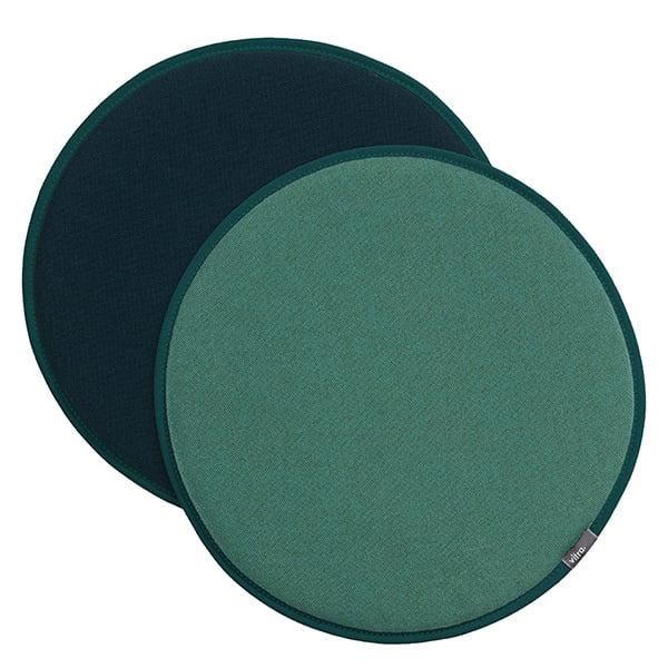 Vitra Seat Dot istuintyyny, minttu - petrooli