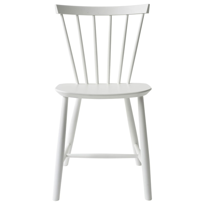 FDB Møbler J46 chair, white | Finnish Design Shop