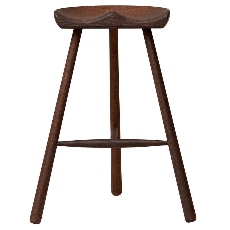 Form & Refine Shoemaker Chair No. 68 bar stool, smoked oak