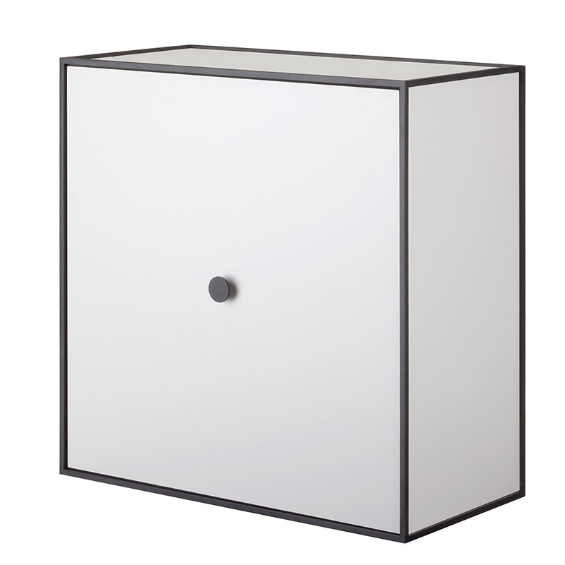 By Lassen Frame 42 box with door, light grey