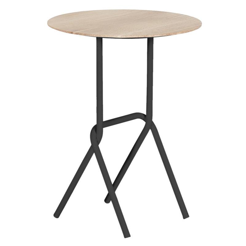 Harto Desire side table, slate grey