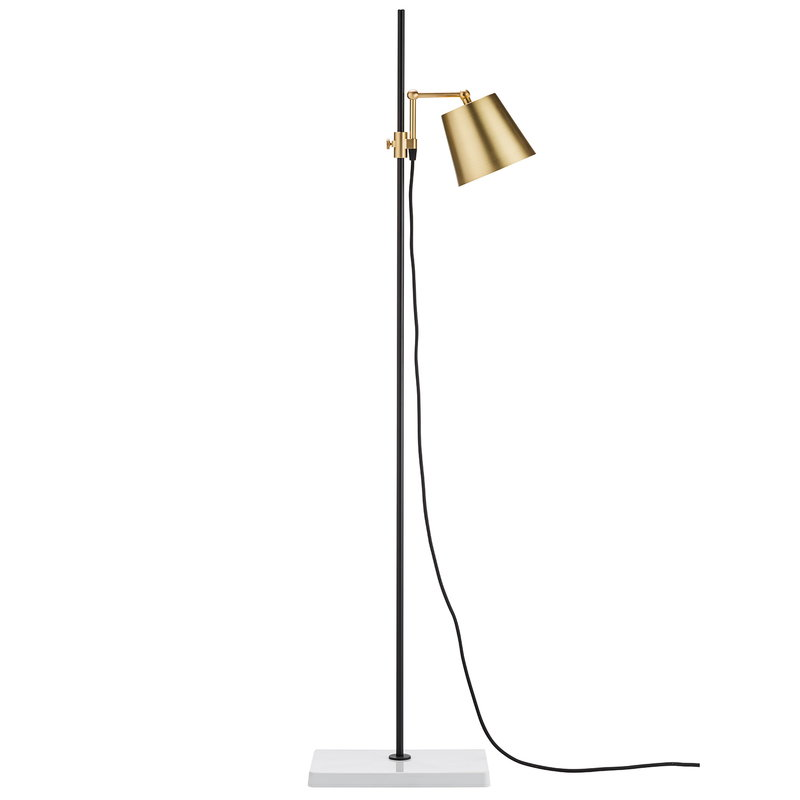 Karakter Lab Light Floor Lamp Black, What Floor Lamp Gives Off The Most Light