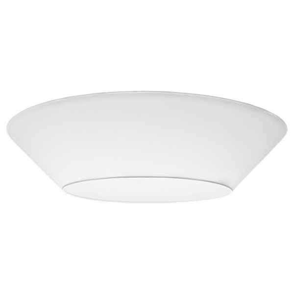 Lundia Halo ceiling light, large, white