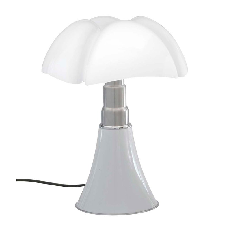 Martinelli Luce Minipipistrello table lamp, dimmable, white