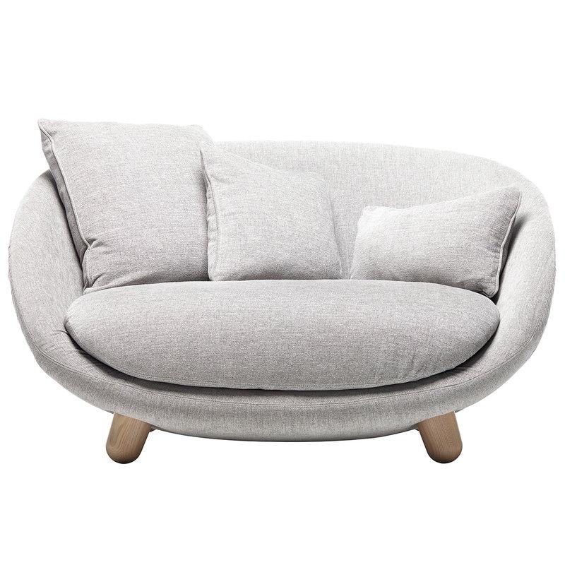 Moooi Love sofa, Liscio Nebbia