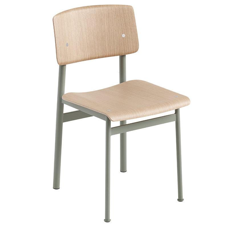 Muuto Loft tuoli, vihreä - tammi