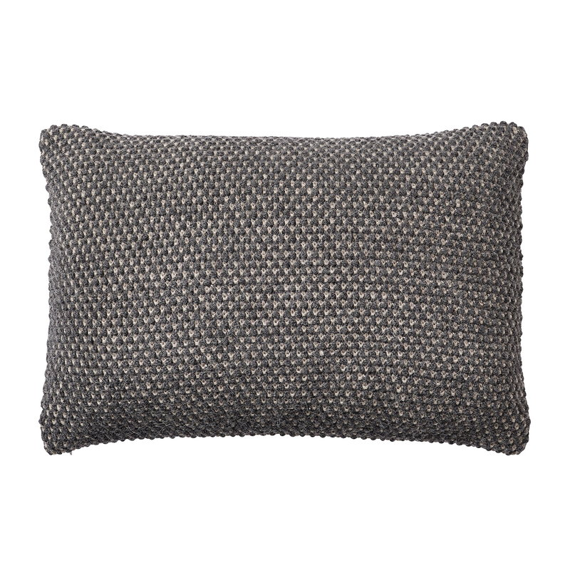 Muuto Twine cushion 40 x 60 cm, dark grey
