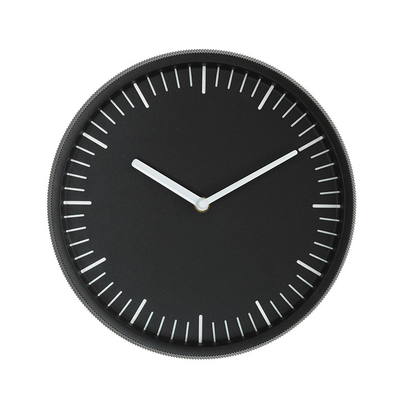 Normann Copenhagen Day wall clock, black