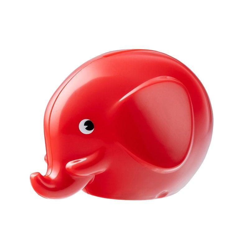 Palaset Medi Norsu säästölipas, punainen