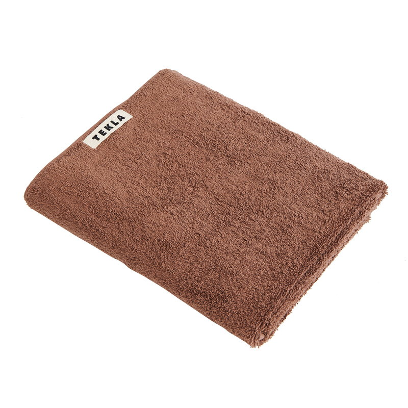 Tekla Hand towel, 50 x 80 cm, kodiak brown