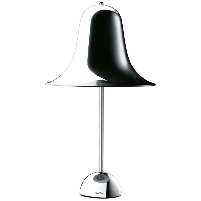 Verpan Lampada da tavolo Pantop, cromo