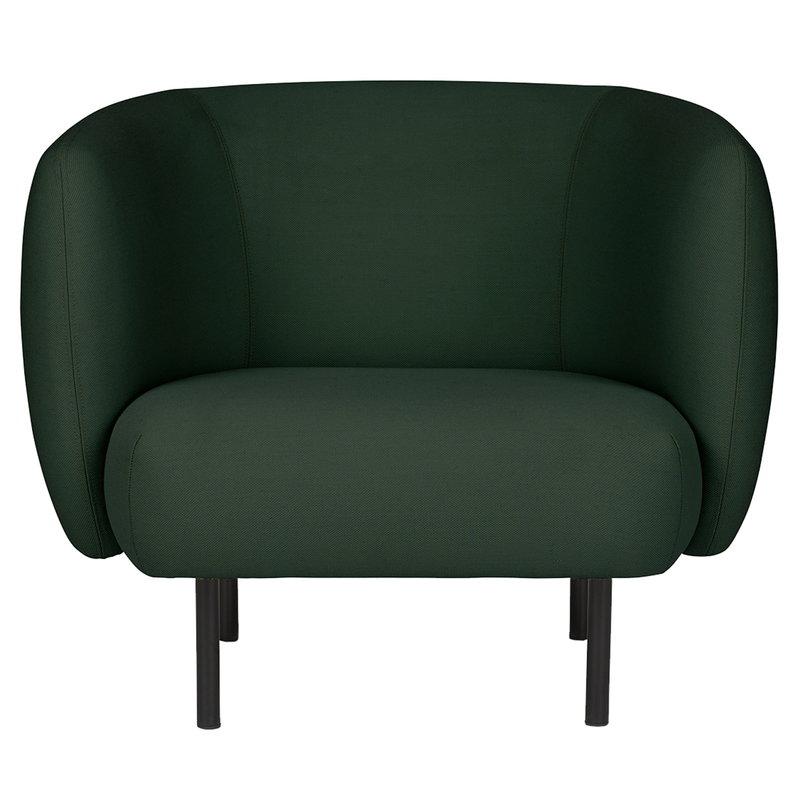 Cape nojatuoli, metsänvihreä