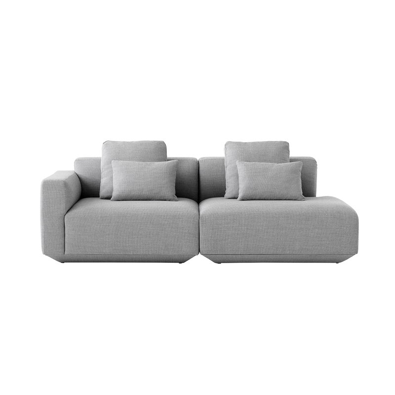 &Tradition Develius G modular sofa with cushions, Fiord 151