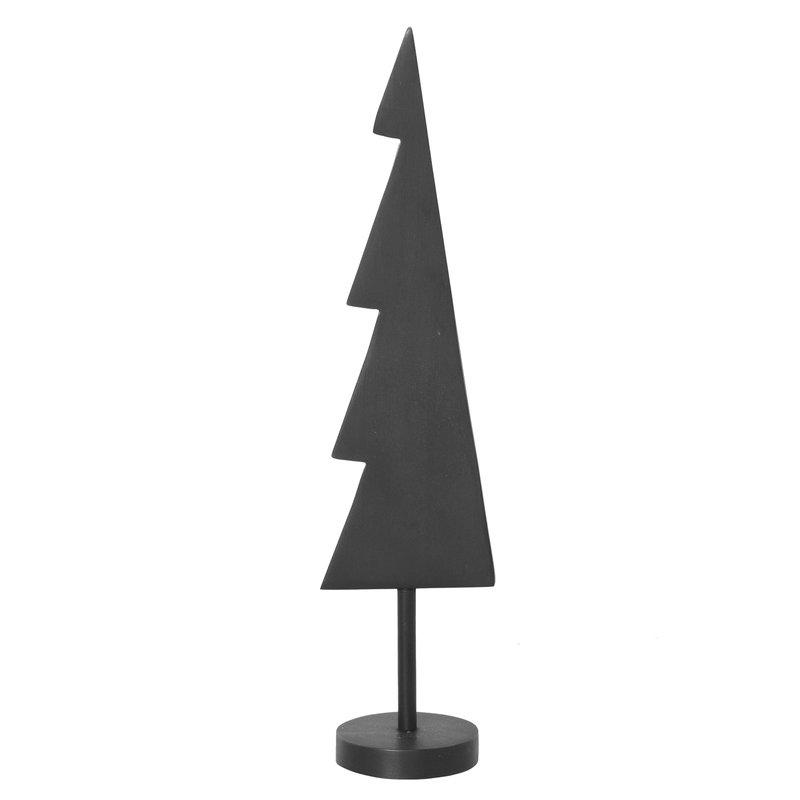 Ferm Living Winterland Brass Tree, small, black