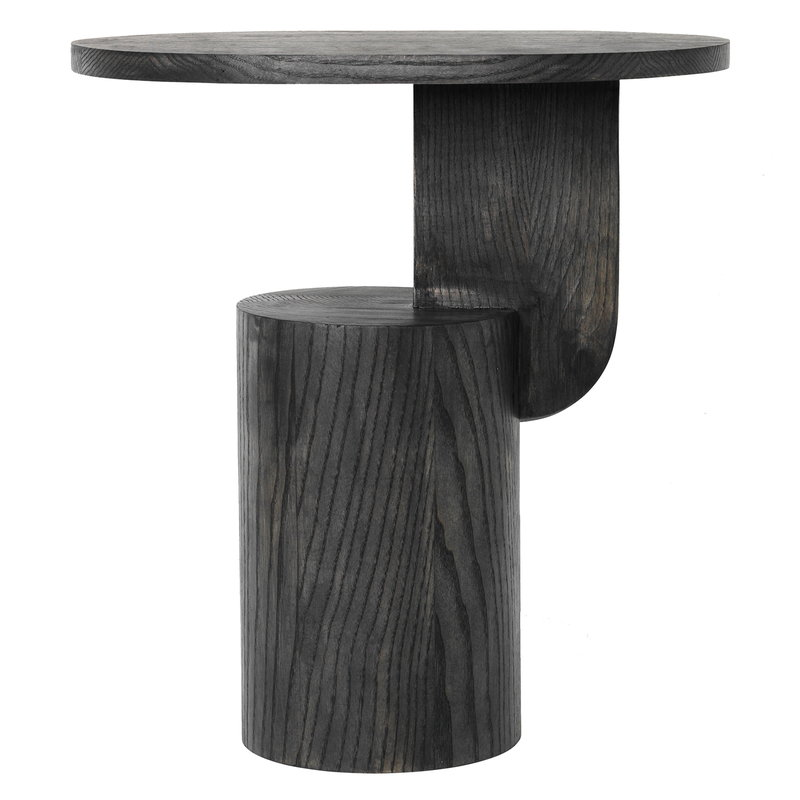 Ferm Living Insert side table, black stained ash