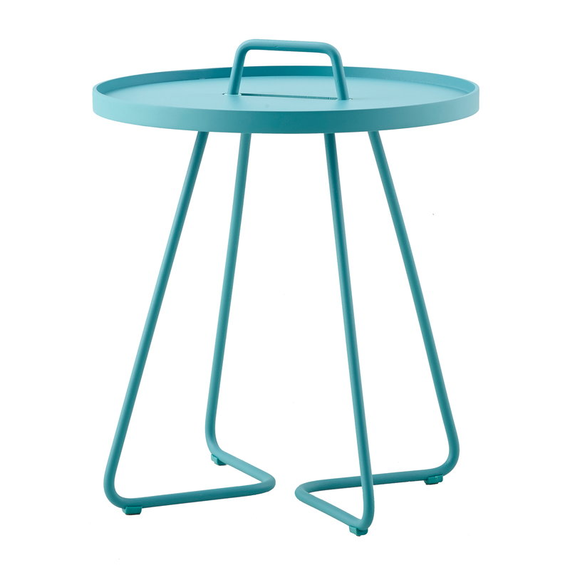 Cane-line On-the-move table, small, aqua