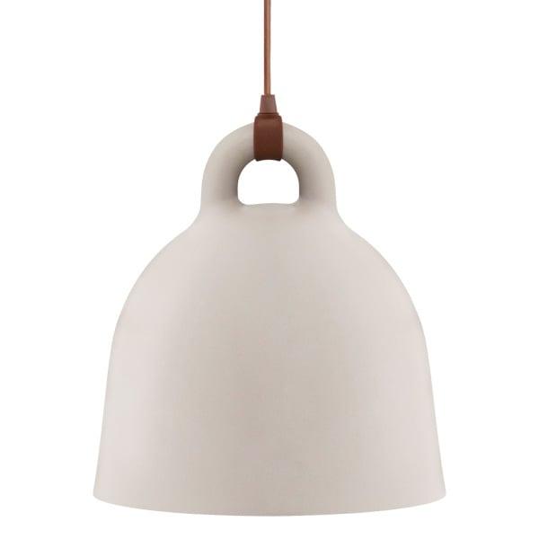Normann Copenhagen Lampada Bell, L, sabbia