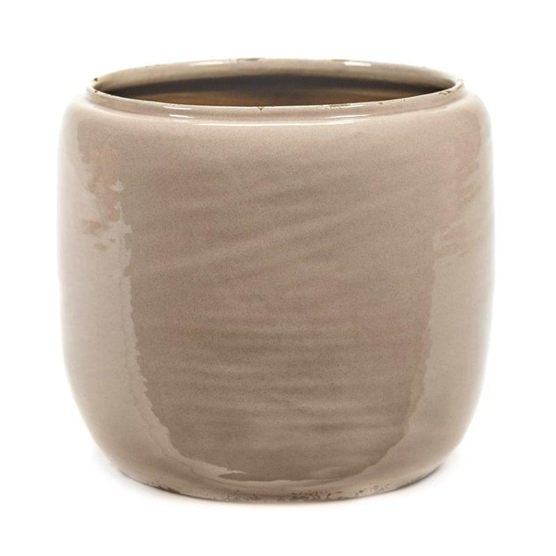 Serax Glazed Shades pot, pink