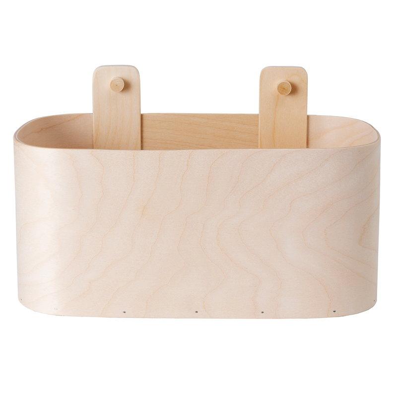 Verso Design Koppa Wall Basket, low