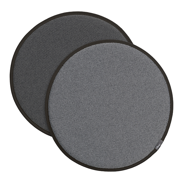 Vitra Seat Dot istuintyyny, harmaa - tummanharmaa