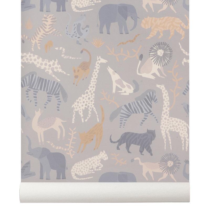 Ferm Living Safari wallpaper