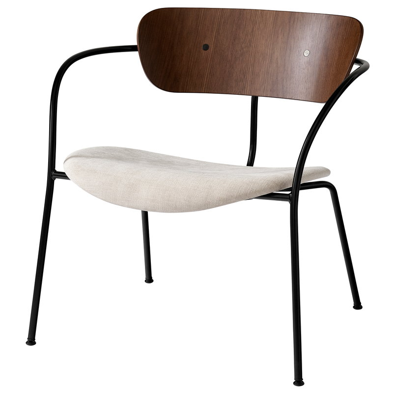 &Tradition Pavilion AV6 lounge chair, lacquered walnut - Maple 212