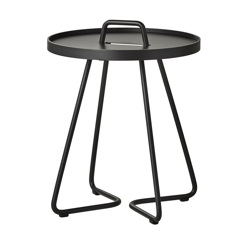 Cane-line On-the-move table, XS, black