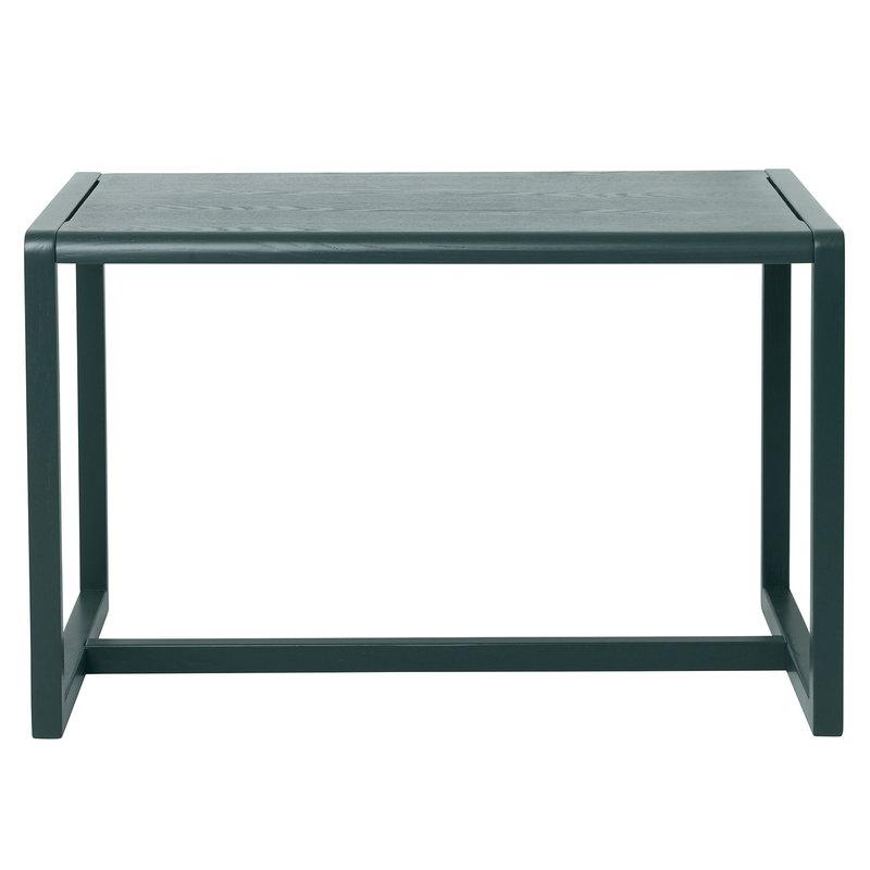 Ferm Living Little Architect table, dark green