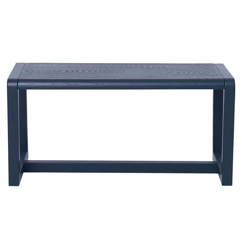 Ferm Living Little Architect bench, dark blue
