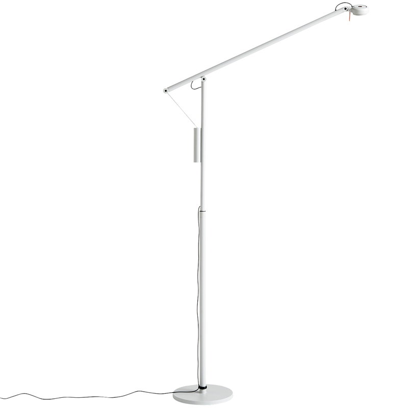 Hay Fifty-Fifty floor lamp, ash grey